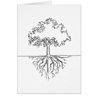 Tree Roots Card