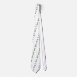 Tree ~ Roots of Life Colorful Scroll Trees Neck Tie