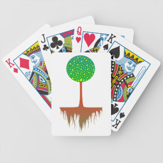 Tree roots tree roots bicycle playing cards