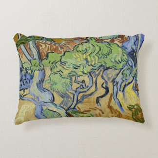 Tree roots van Gogh / 木の根と幹 ゴッホ Accent Pillow