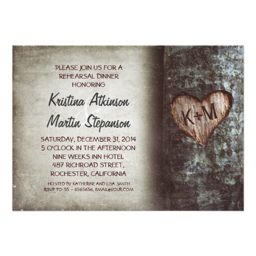 Rustic Rehearsal Dinner Invitations is an amazing ideas you had to choose for invitation design