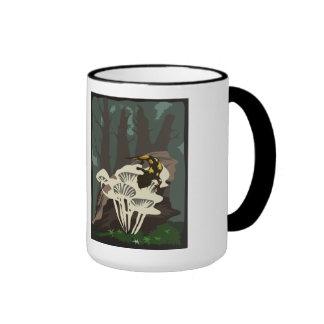 'Tree Salamander' Ringer Mug