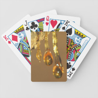 Tree Sap Drippings Playing Cards