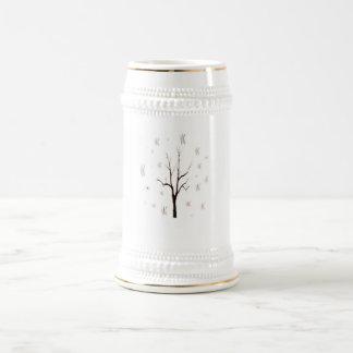 tree scraps copy 18 oz beer stein