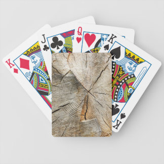 Tree Section Cross Bicycle Playing Cards