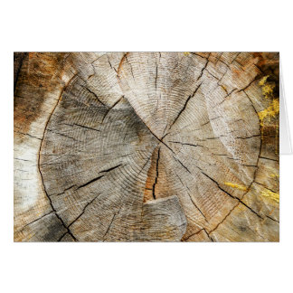 Tree Section Cross Card
