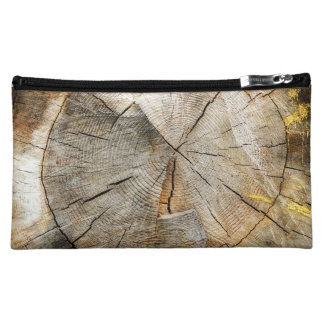 Tree Section Cross Cosmetic Bag