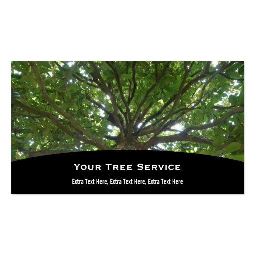 800 tree service business cards and tree service business for Tree service business card