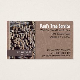 Tree Service/Firewood Business Card