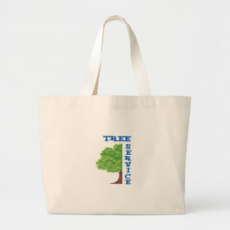 Tree Service Jumbo Tote Bag