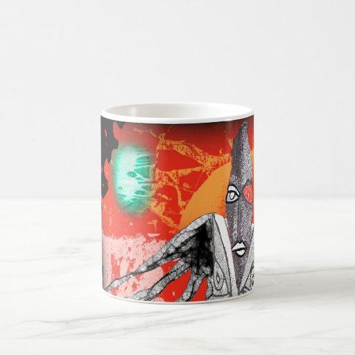 tree shaman classic white coffee mug