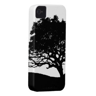 Tree Silhouette iPhone 4 Cases