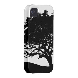 Tree Silhouette Case For The iPhone 4