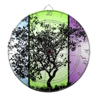 Tree Silhouette Dartboards