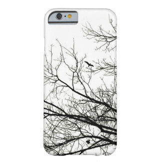 Tree Silhouette Flying Bird Barely There iPhone 6 Case