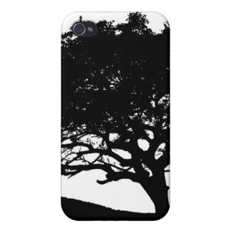 Tree Silhouette iPhone 4/4S Covers