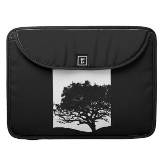 Tree Silhouette Sleeve For MacBook Pro