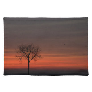 Tree Silhouette Place Mat