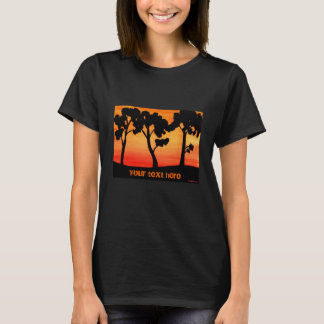 Tree Silhouette Watercolor T-Shirt