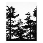 Tree Silhouettes Customized Letterhead