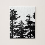 Tree Silhouettes Jigsaw Puzzles