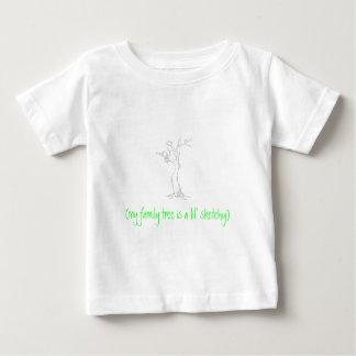 tree-sketch, (my family tree is a lil' sketchy) baby T-Shirt