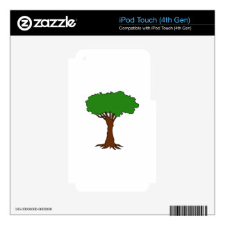 TREE iPod TOUCH 4G SKINS