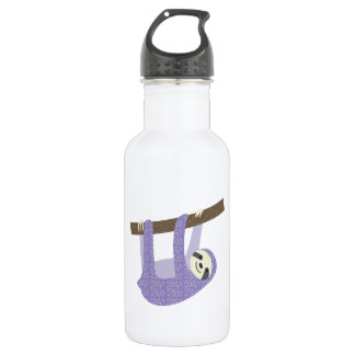 Tree Sloth 18oz Water Bottle