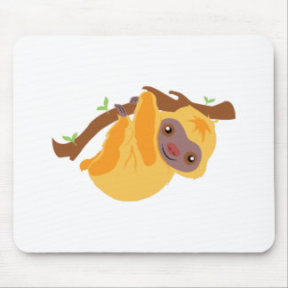 Tree Sloth Mouse Pad