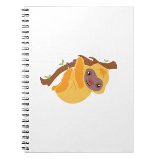 Tree Sloth Notebook