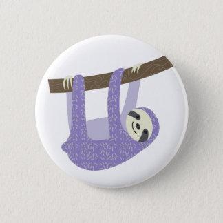Tree Sloth Pinback Button