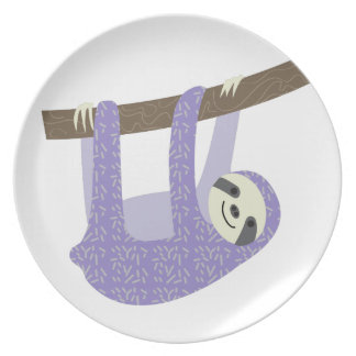 Tree Sloth Plates