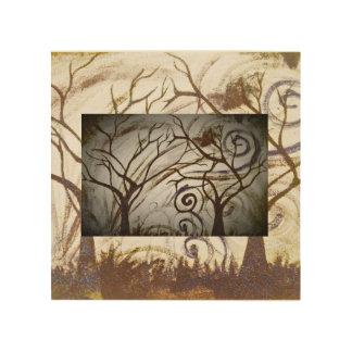 tree sorrow wood print