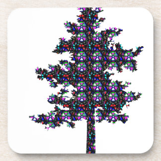 TREE Sparkle GREEN Environment NVN545 SACRED GIFTS Coaster