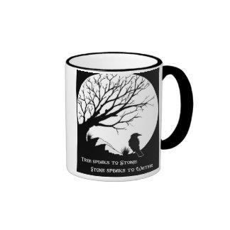 Tree Speaks to Stone... Ringer Mug
