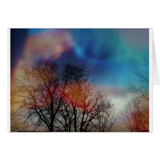 Tree Spirits Card