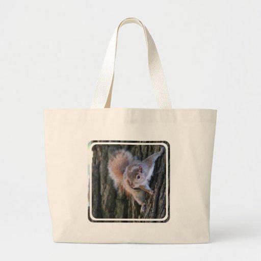Tree Squirrel  Canvas Bag