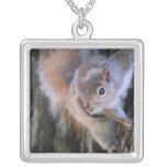 Tree Squirrel  Necklace