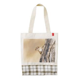 Tree squirrel zazzle HEART tote bag