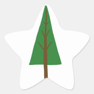 Tree Star Sticker
