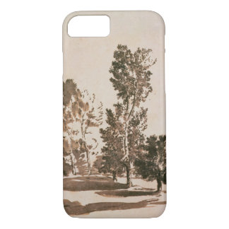 Tree Study (pen & ink on paper) iPhone 7 Case