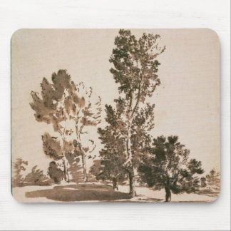 Tree Study (pen & ink on paper) Mouse Pad