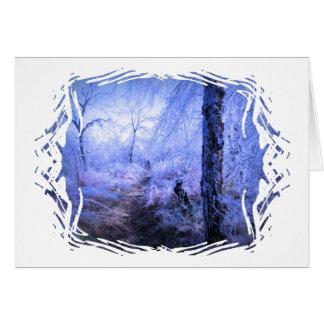 Tree Stump by Trail Card