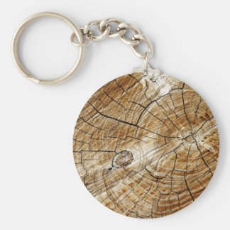 Tree Stump Keychain