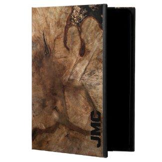 Tree Stump Monogrammed Powis iPad Air 2 Case