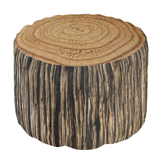 tree stump pouf. Black Bedroom Furniture Sets. Home Design Ideas