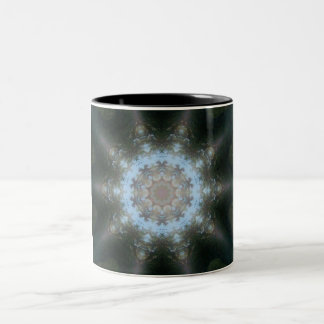 Tree Stump Shine Two-Tone Coffee Mug