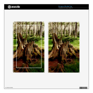 Tree Stump Skin For Kindle Fire