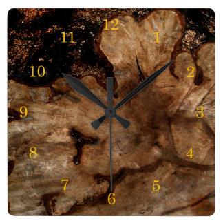 Tree Stump Wall Clocks Zazzle