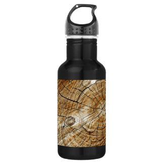 Tree Stump Stainless Steel Water Bottle
